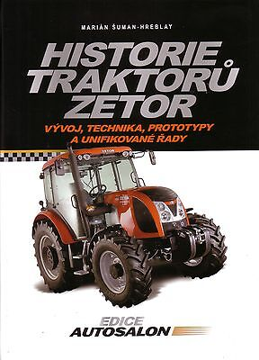 Book - Czech Zetor Tractors 1945 2010 - Historie Traktoru - Super Major Crystal, używany na sprzedaż  Wysyłka do Poland