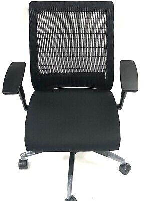 Steelcase Think Chair 3d Knit Back 4-way Adjustable Arms