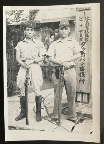 WW II  -  Original Japanese Soldiers / Officers  - RARE !