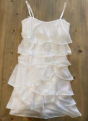 BCBG Maxazria White Dress Size 0 NWT