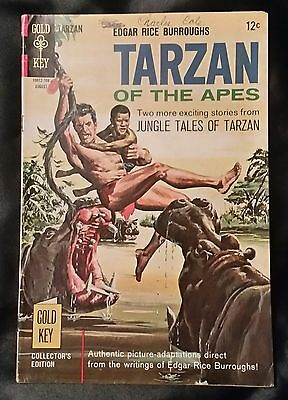 TARZAN OF THE APES. NO. 170 - GOLD KEY - AUGUST 1967