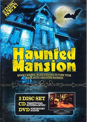 HAUNTED MANSION: VIRTUAL HALLOWEEN HOUSE SOUNDS, MUSIC & SCENES (DVD + CD COMBO) (Haunted Halloween Sounds)