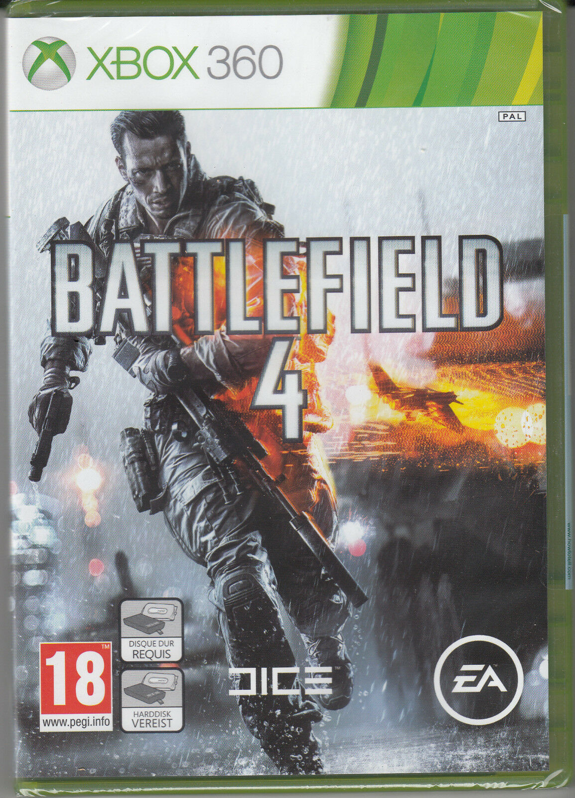 Xbox 360 Games - Battlefield 4 Xbox 360 Brand New Factory Sealed Fast Shipping.