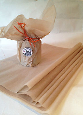 100% Recycled Kraft Tissue Paper - Gift Wrapping , 51cm x 38cm or 15 x 20 inches