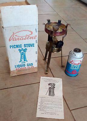 vintage parasene picnic stove