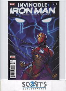 INVINCIBLE-IRON-MAN-10-NEW-BAGGED-amp-BOARDED