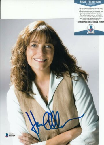 KAREN ALLEN signed (INDIANA JONES and the KINGDOM) 8X10 photo BAS BECKETT T29598