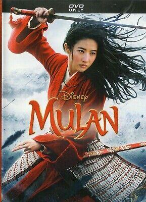 MULAN DVD 2020 BRAND NEW