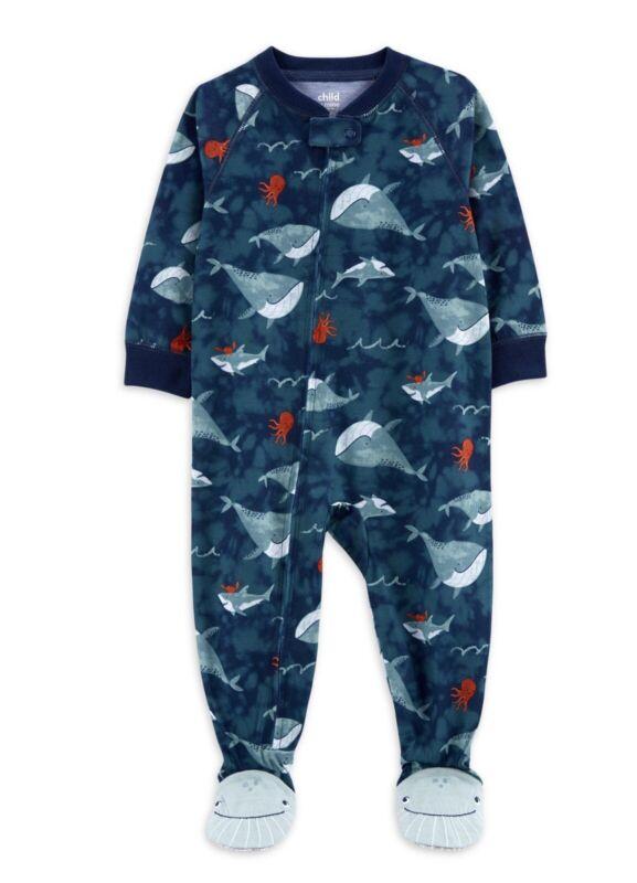 Carters Child of Mine Boys 1 pc Bodysuit Pajamas  Size 24Months  NWT
