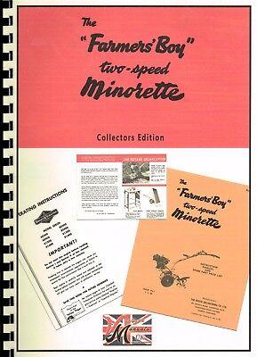 Farmers Boy - Minorette - Manual Collection - Machine, Engine, Brochure