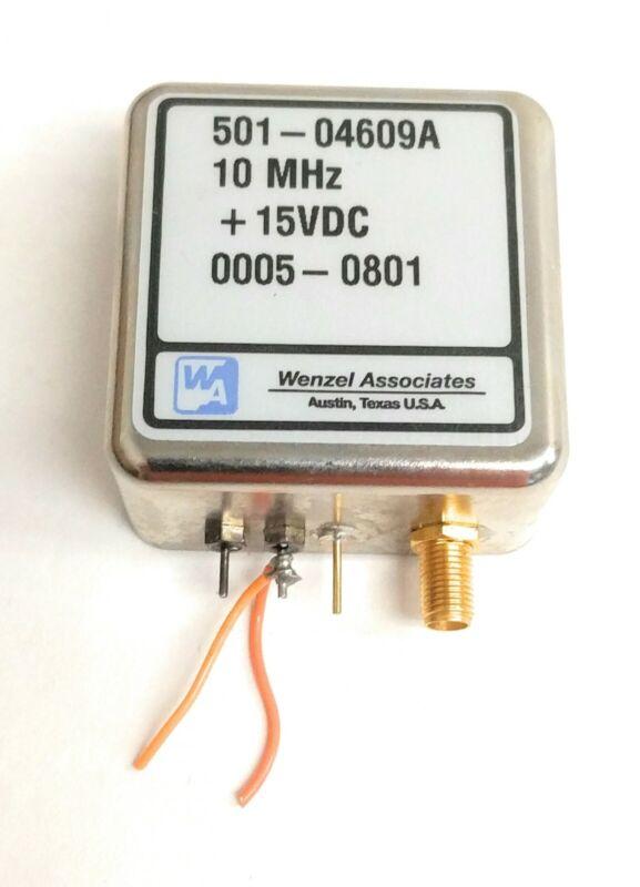Wenzel Associates INC SMA 10 MHz Streamline Crystal Oscillator 501-04609 +15VDC