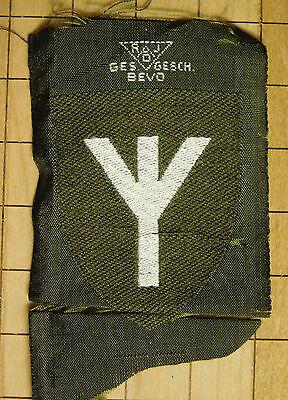 WWII German RAD Medical Specialist Patch-Bevo