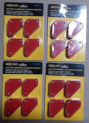 Lot Of 4 Sets Of 4pc Tack Welding Holder Magnetic Arrow Soldering 10lb
