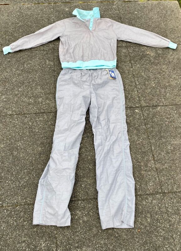 Vintage 70s Nike Swoosh Woma Tracksuit Jacket Windbreaker And Pants New Other