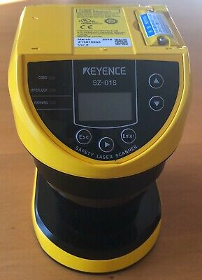 Keyence Corp Safety Scanner Sz-01s Sz01s Used Tested Cleaned