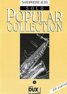 Altsaxophon Noten : Popular Collection 5 leicht - leMi. Saxophon (Alt in Es)