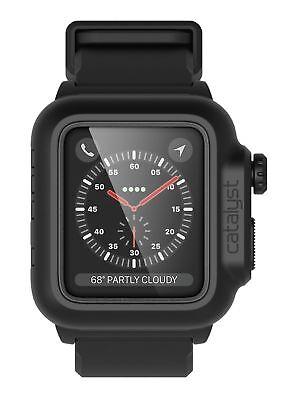 Schutzhülle Catalyst case f. Apple Watch 2/3 42mm Stealth Black