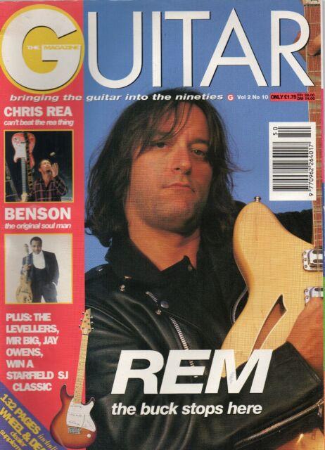Guitar  V2 No 10  REM   Chris Rea  George Bension  The Levellers