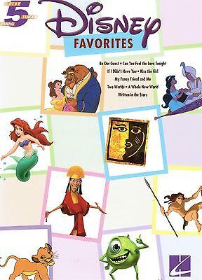 Klavier Noten : Disney Favorites  - Anfänger sehr leicht ANFÄNGER (5 Finger)