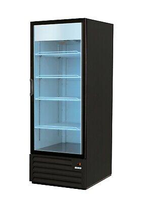 Asber 1 Glass Door Refrigerator Merchandiser Cooler White 25 Years Warranty