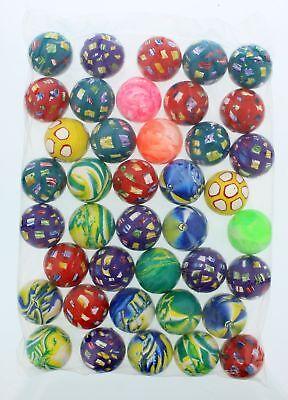 Assorted Bouncing Balls 40 Per Bag