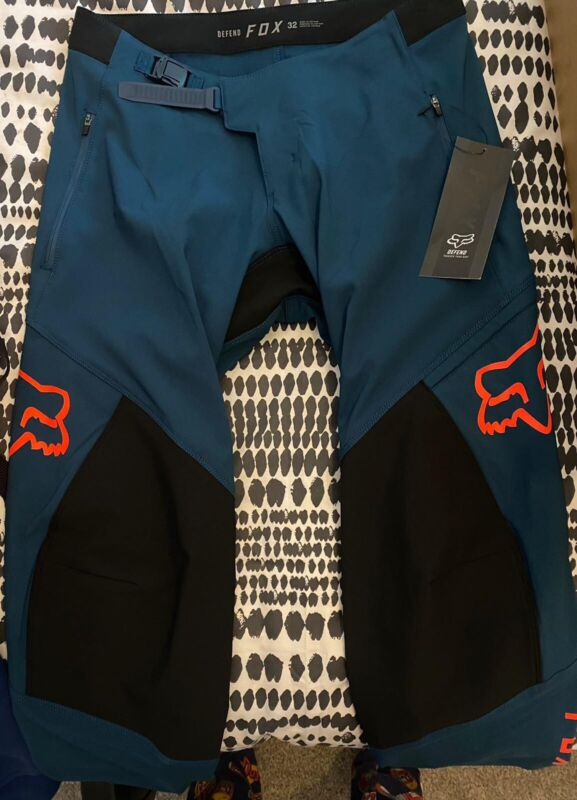 Fox Defend Pants Indigo Size 32 2021 Collection