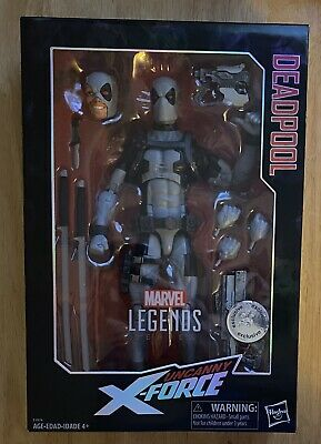 MARVEL LEGENDS DEADPOOL 12 INCH UNCANNY X-FORCE TOYS R US TRU Exclusive NEW HTF