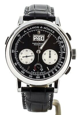 A. Lange and Sohne Datograph Up/Down Platinum 41mm ref: 405.035 Full Set