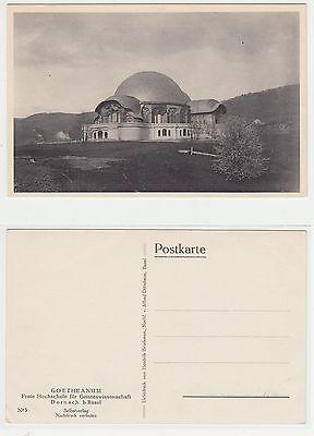 Dornach,Erste Goetheanum Anthroposophie anthroposophy Rudolf Steiner um 1910 (3)