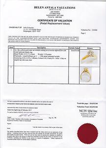 One carrot Diamond ring Dakabin Pine Rivers Area Preview