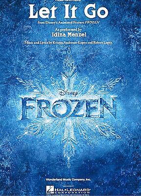 Klavier Noten : Let it go (Frozen - Idina Menzel) - Einzelausgabe mittelschwer