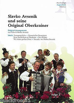 Oberkrainer Besetzung COMBO Noten : AVSENIK und Original Oberkrainer Folge 2