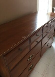 REDUCED Dresser and mirror for sale