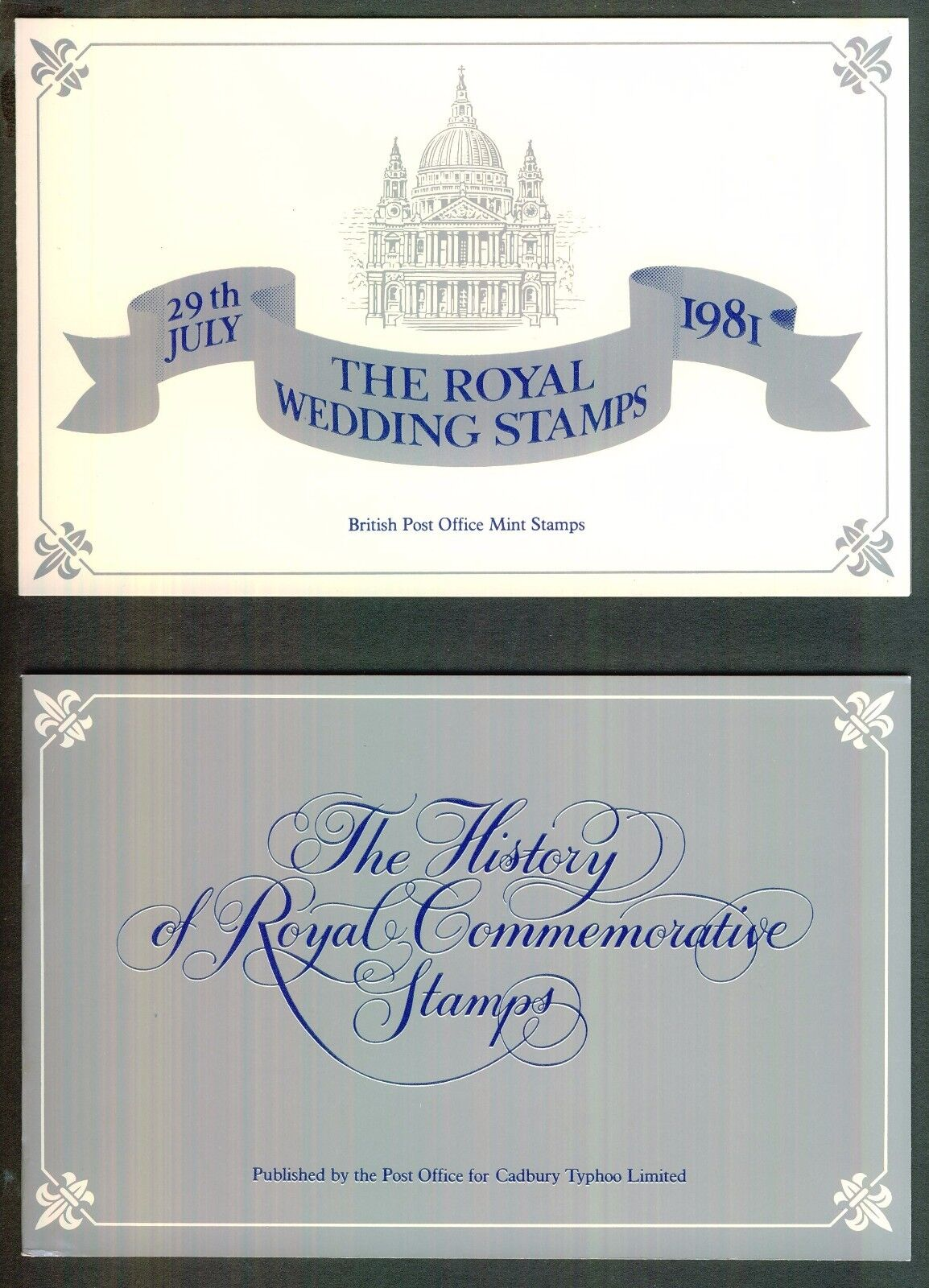 Royal Wedding Charles and Diana 29Th July 1981 Presentation Pack + Booklet.