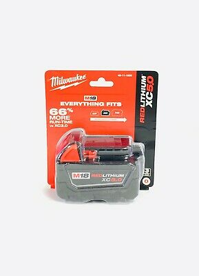 Milwaukee M18 REDLITHIUM XC5.0 Extended Capacity Battery Pack - 48-11-1850