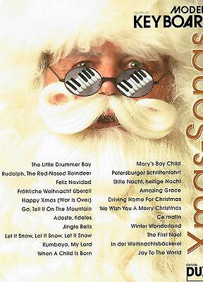 Keyboard Noten : Xmas-Songs Christmas Pop leicht WEIHNACHTEN Loy Modern Keyboard
