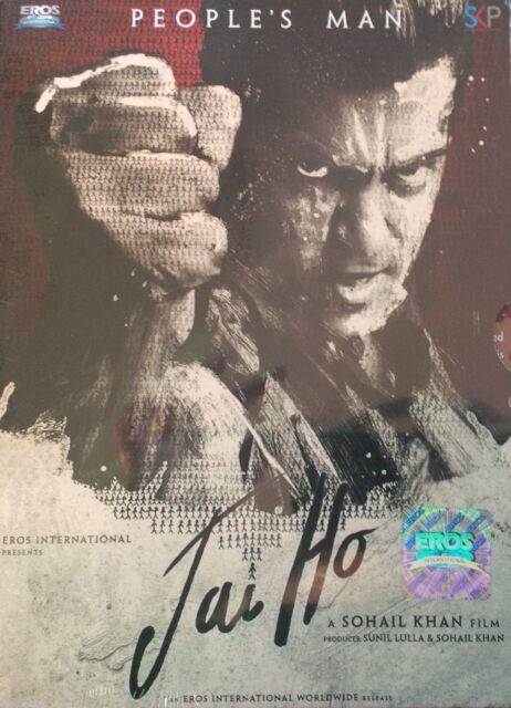 JAI HO - SALMAN KHAN - DAISY SHAH - TABU - NEW BOLLYWOOD DVD - FREE UK POST