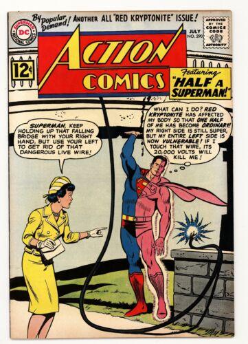"""Action Comics 290 VF 8.0 """"Half a Superman"""""""