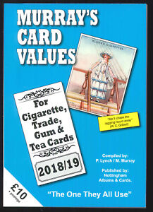 Murray's Cigarette Card Values - 2018/19 Cigarette & Trade Card Catalogue