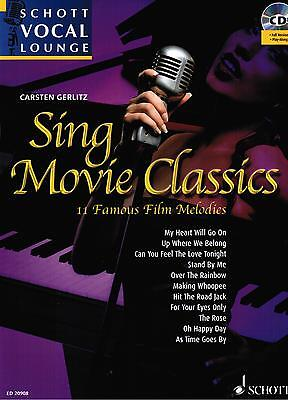 Gesang + Klavier Noten : Sing Movie Classics mit CD   Filmmusik Carsten Gerlitz