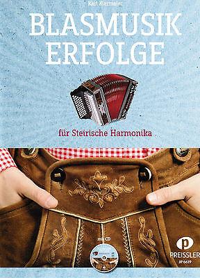 Steirische Harmonika Noten : Blasmusik Erfolge mit CD  - GRIFFSCHRIFT
