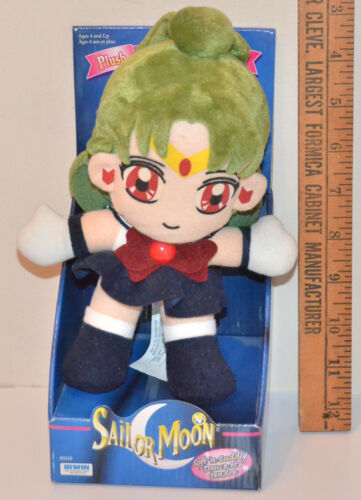 Sailor Pluto plush adventure doll stuffed toy Sailor Moon Irwin 1998