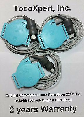 Ge Corometrics Nautilus Toco Transducer 2264lax - 2 Year Warranty 100 Original