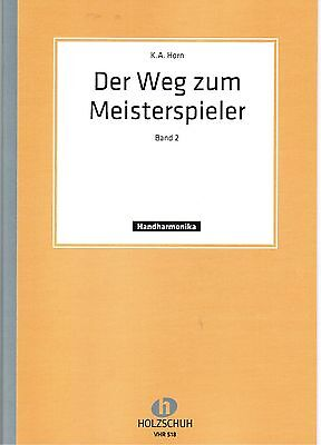 diat. diatonische Handharmonika Noten : Der Weg zum Meisterspieler 2 - leMi - ms
