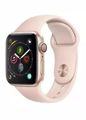 Apple Watch Series 4 40mm Gold with Pink Sports Band GPS