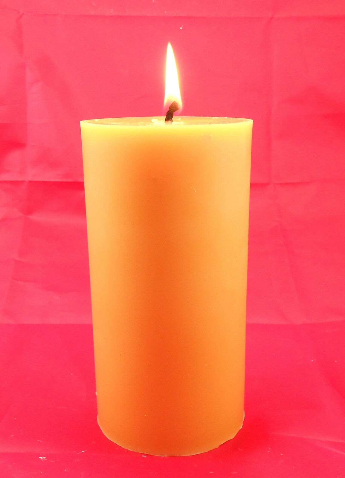 1 - 5 inch Cylinder 100% Beeswax Candle for Home Gift Favor
