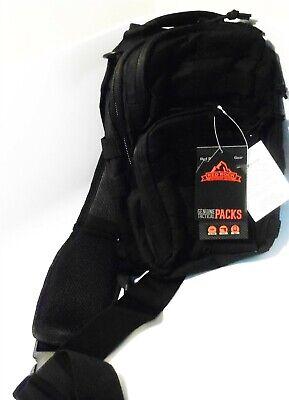 Red Rock Outdoor Gear Rebel Rover Sling Pack (Black)