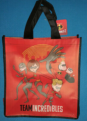 @DISNEY PIXAR THE INCREDIBLES REUSABLE TOTE/SHOPPING BAG /FAVOR OR GIFT - Disney Gift Bag