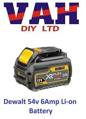 DeWALT DCB546 18V/54V 6.0Ah/2Ah Li-Ion Battery Pack XR FLEXVOLT NEW