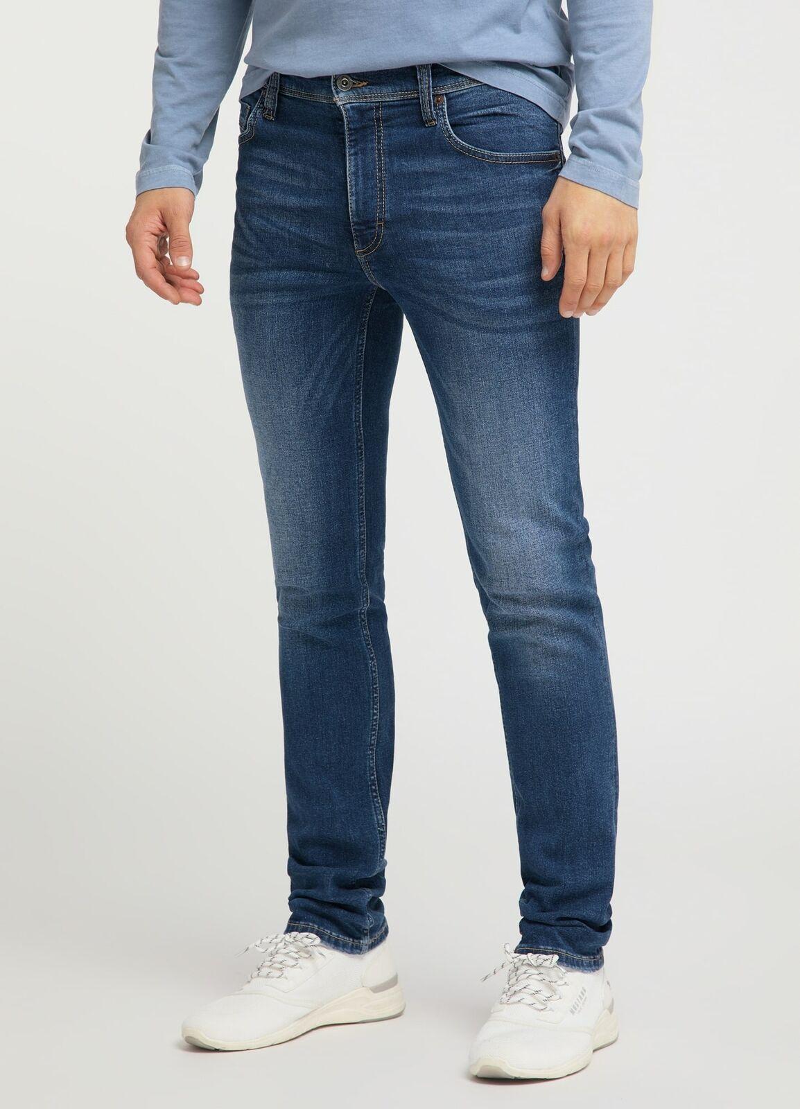 Mustang Washington Herren Slim Fit Jeans / Medium Rise / Blau